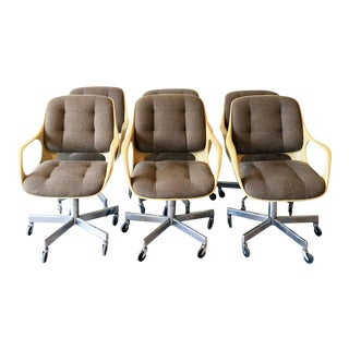 Chromcraft Space Age Office Chairs - Set of 6