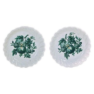 Vintage Porcelain Limoges Fruit Dishes - Pair