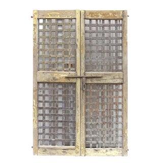 Gujrat Lattice Doors - A Pair
