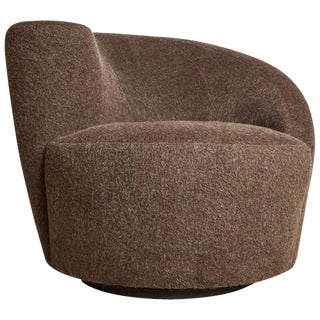 Vladimir Kagan Nautilus Swivel Chair for Directional