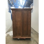 Image of 1900s Antique Oak Armoire