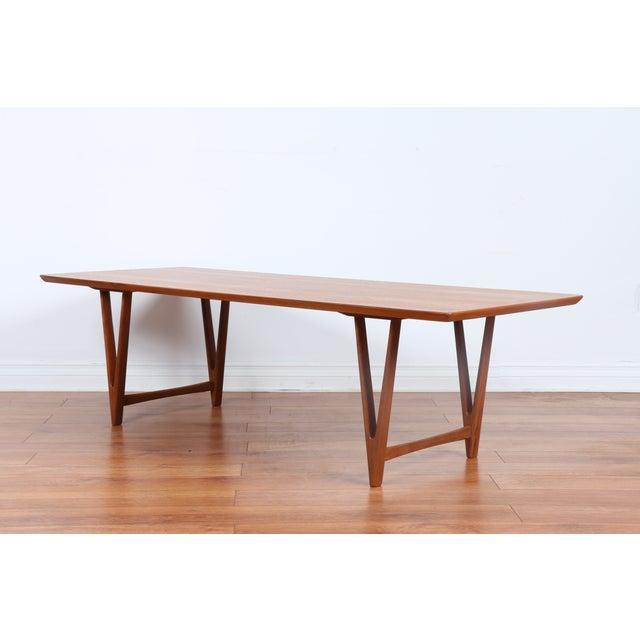 Kai Kristiansen Style Coffee Table - Image 8 of 9