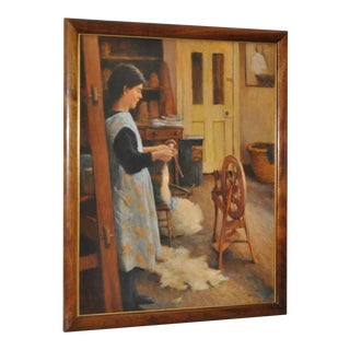 Spinning Wool by Olaf Palm