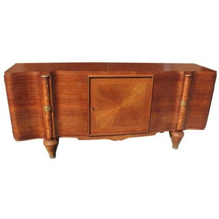 French Art Deco Palisander Mother of Pearl Inlaid Buffet