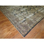 Image of Distressed Persian Sultanabad Rug - 8'7'' x 11'9''