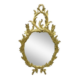 20th C. Carved & Giltwood Mirror