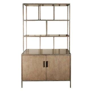 Paul Marra Bookcase in Faux Bronze