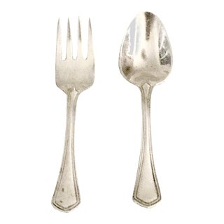 Tiffany & Co. Sterling Silver Baby Spoon & Fork