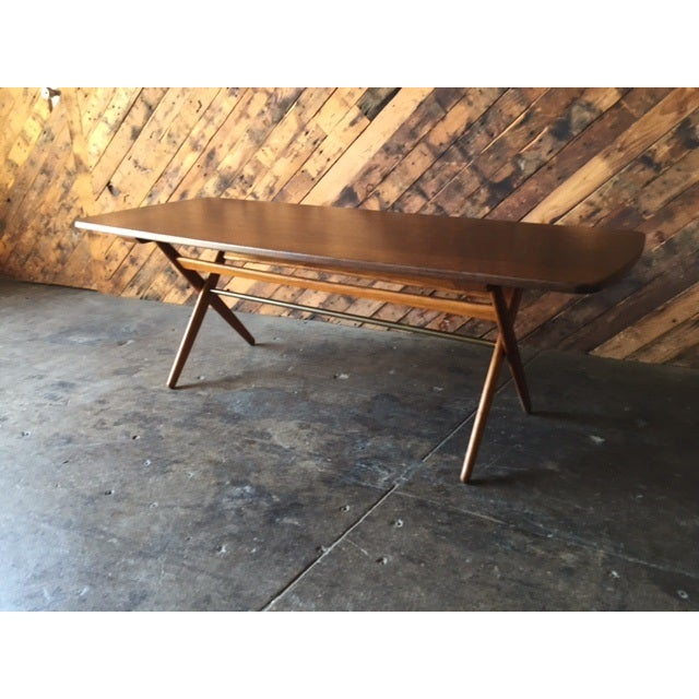 Mid-Century Danish Coffee Table by Ole Wanscher - Image 3 of 10