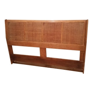 Mid-Century Modern Honey Headboard