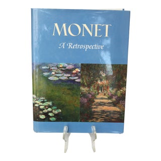 Monet A Retrospective, Book