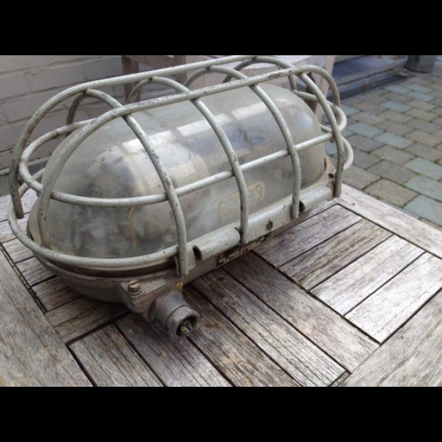 Image of Industrial German Explosion Proof Factory Lamp