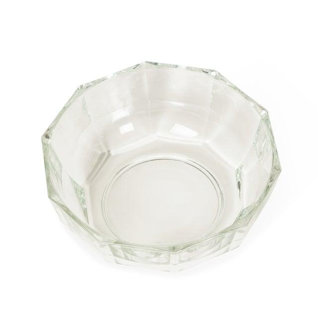 1960s Italian Crystal Decagonal Bowls - A Pair - Image 7 of 8