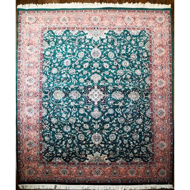 Persian Kashan Rug- 8′ × 10′ - Image 2 of 8