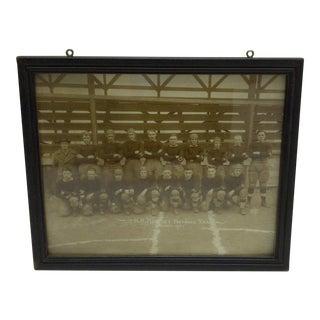 1921 The h.h. Hartley Football Team Black & White Photograph