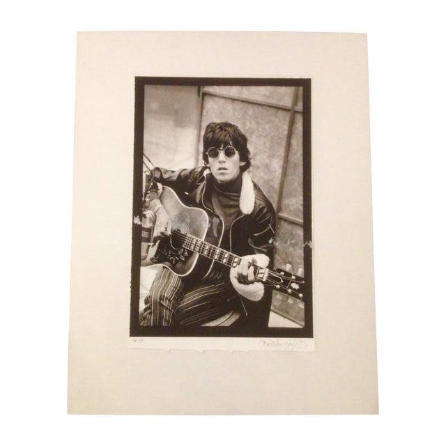 Image of Vintage Keith Richards Photo