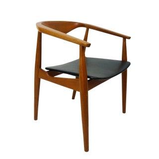 Danish Modern Teak Round Arm Chair