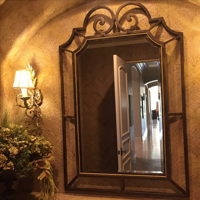 Theodore Alexander Beveled Mirror - Image 2 of 6