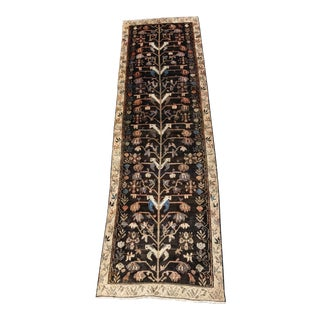 "Vintage Persian Malayer Runner - 3'3"" x 10'11"""