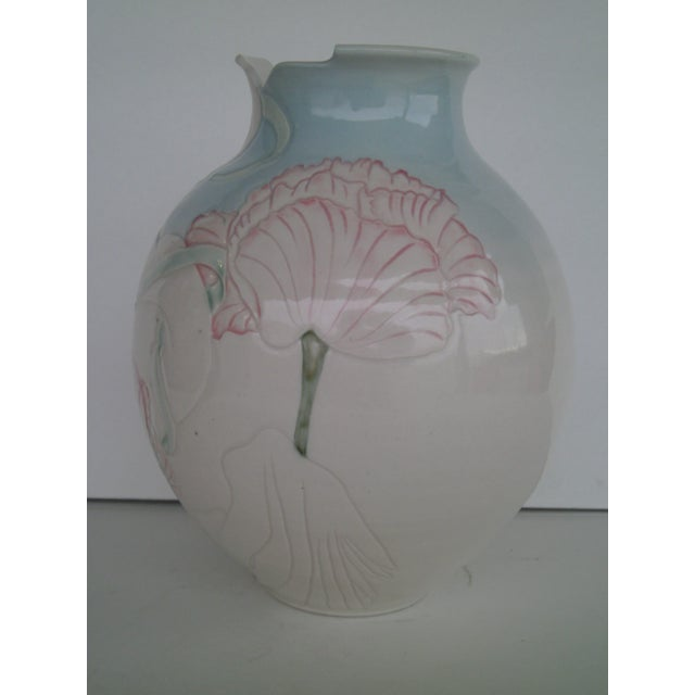 Vintage Art Pottery Vase - Image 5 of 10
