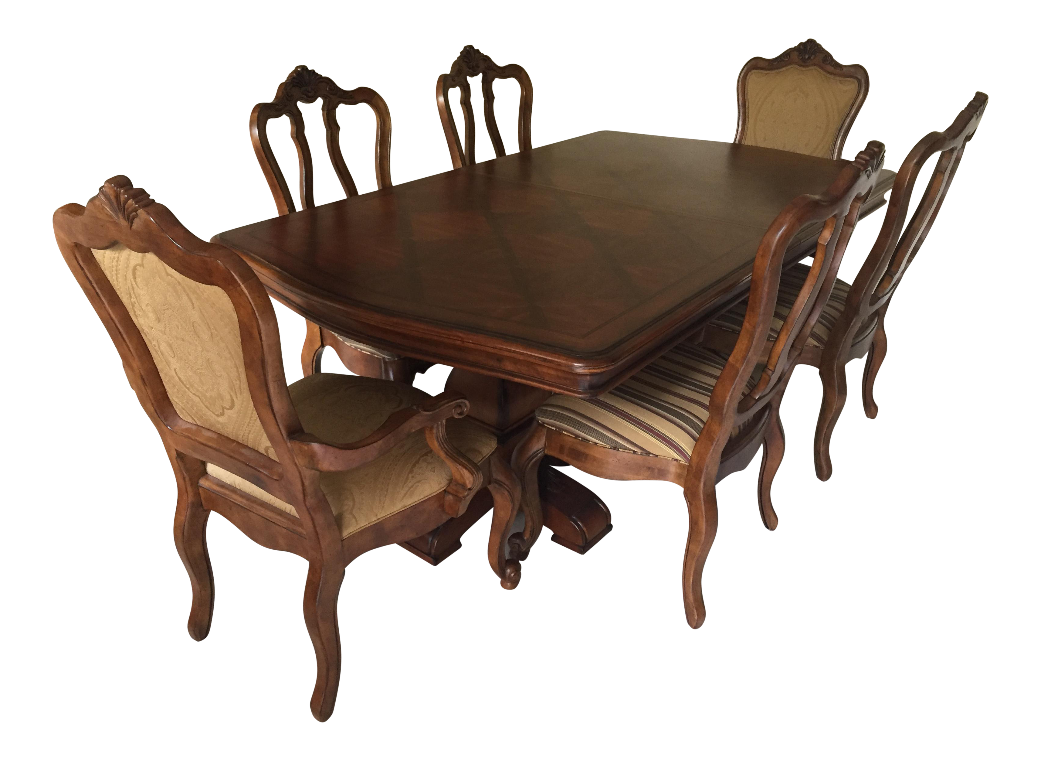 Ethan Allen Tuscany Dining Set Set of 7 Chairish : ethan allen tuscany dining set set of 7 4833aspectfitampwidth640ampheight640 from www.chairish.com size 640 x 640 jpeg 34kB