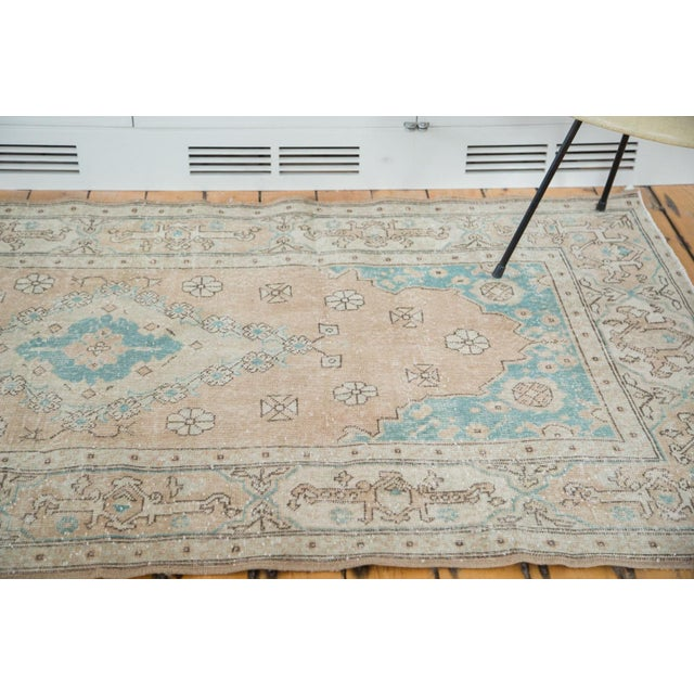 "Image of Distressed Oushak Rug - 4'3"" X 7'7"""