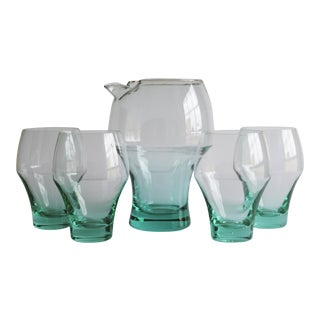 Cocktail Pitcher & Glasses