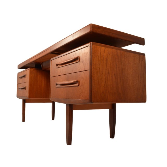 Image of Mid Century Modern Teak Desk by G Plan Fresco