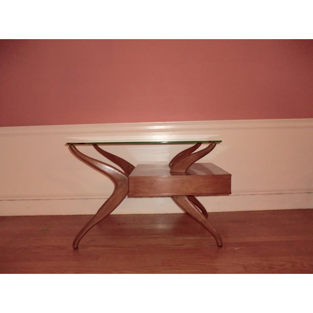 Danish modern mixed end tables a pair chairish for 0co om cca 9 source table