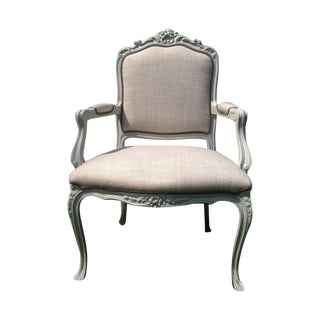 French Regency Armchair With Painted Frame