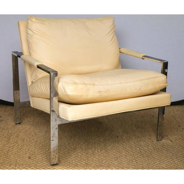 Milo Baughman for Thayer Coggin Club Chairs, Pair - Image 6 of 10