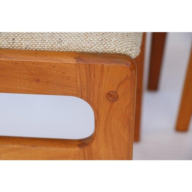 Vintage D-Scan Teak Dining Chairs - Set of 6 - Image 7 of 7