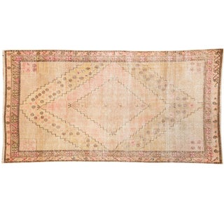 "Vintage Distressed Khotan Rug - 4'7"" x 8'9"""