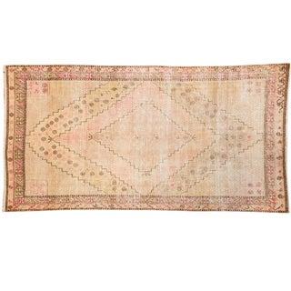 "Vintage Distressed Khotan Rug - 4'7"" x 8'9"""