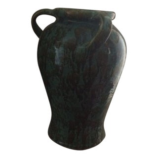 Large Vintage Ohio Pottery Zanesville Vase