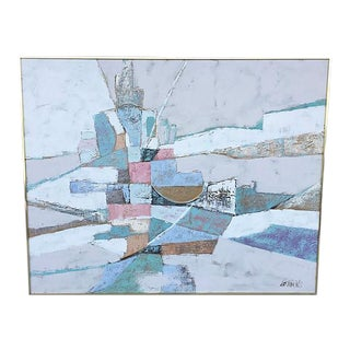 Lee Raynolds Large Abstract Painting
