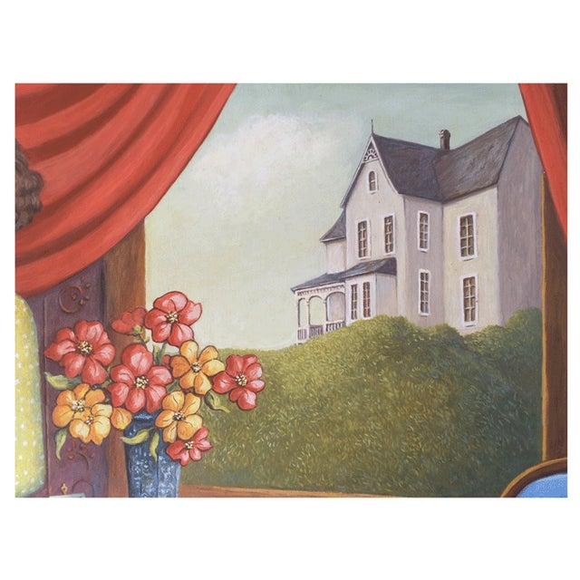 June Parrish Cookson Original Casein Painting - Image 3 of 6