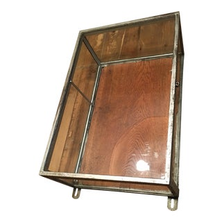Vintage Glass Vitrine Display Unit