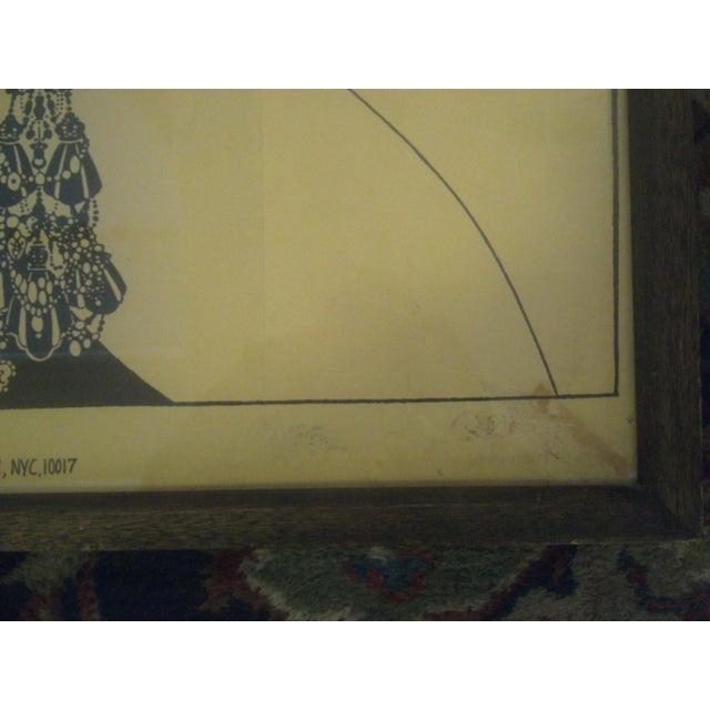 """Aubrey Beardsley """"Ali Baba"""" Print - Image 5 of 8"""