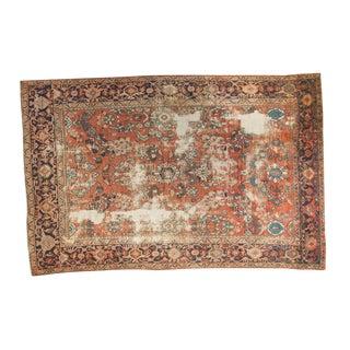 """Distressed Mahal Carpet - 6'7"""" x 10'"""