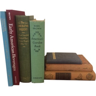 Lot of Vintage Books - Set of 7