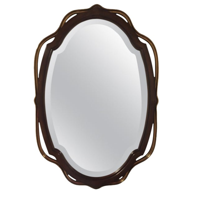 Image of La Barge Glass Wall Mirror