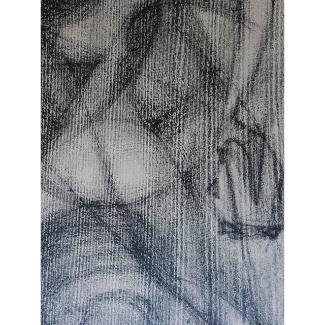 Mexican Abstract (The Figure) Drawing - Image 4 of 4