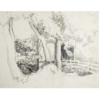 Covered Bridge Pencil Study