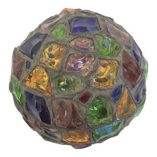Art Glass Lamp Globe