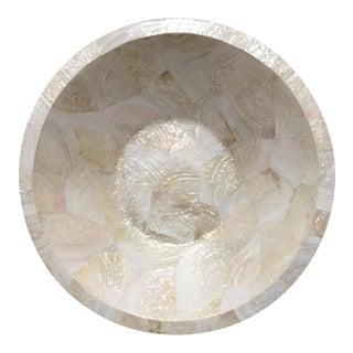 Oversized Capiz Shell Bowl