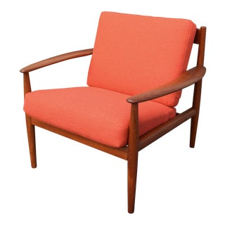 Mid-Century Danish Modern Teak Chair by Grete Jalk.