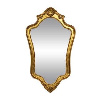 Vintage Rococo-Style Entry Hall Mirror