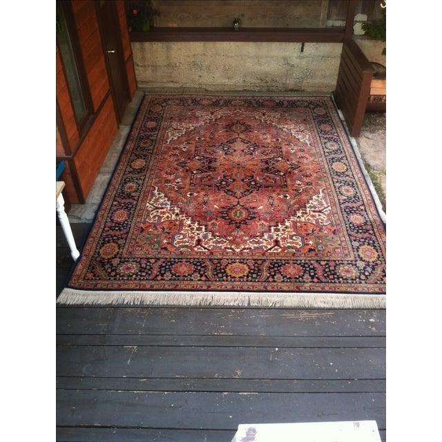 """Image of Oriental Persian Wool Rug - 8'8"""" X 12'"""