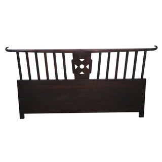 Tommi Parzinger Asian Modern-Style Queen Headboard